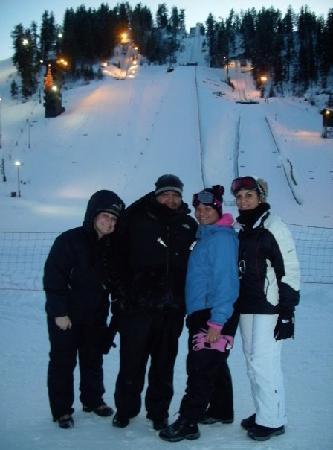 Howelsen Ski Area: The jump on Howelsen were Winter 2010 Olympic jumper was training