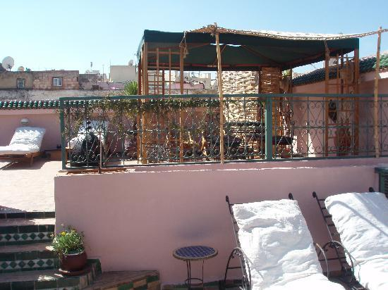 Riad Lahboul: Top terrace