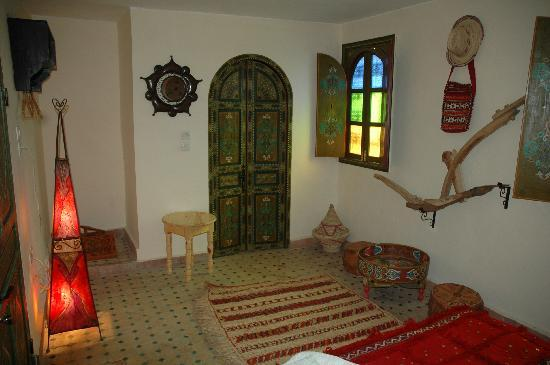 Riad Lahboul: The Berber bedroom on the terrace