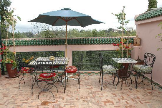 Riad Lahboul: Terrace