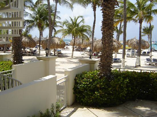 Hotel Riu Palace Aruba: view from timeshare room