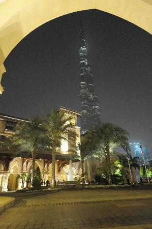 Palace Downtown: entrée de l'hôtel