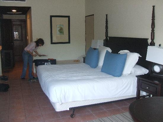 Dreams La Romana Resort & Spa: la chambre et très confortable est spacieuse
