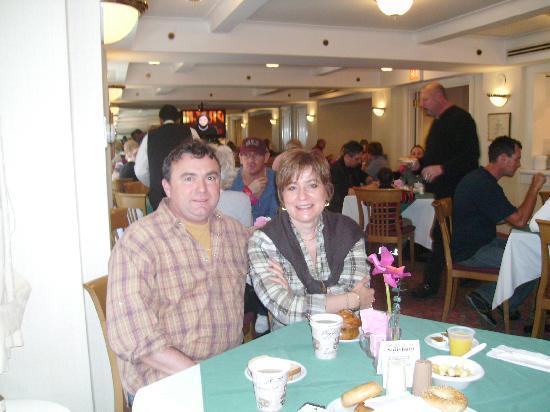 Salisbury Hotel: le petit dejeuner