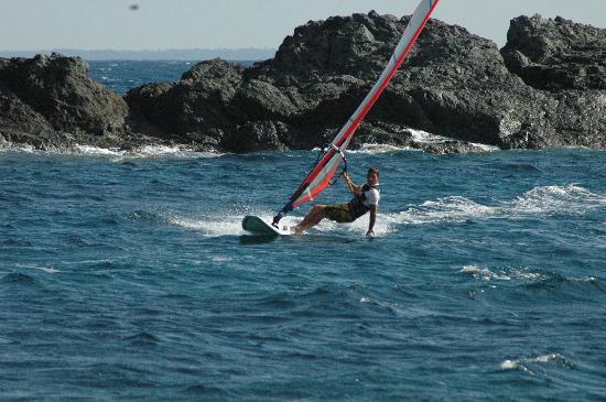 Pomonte, Italie : windsurf paradise!!!!!