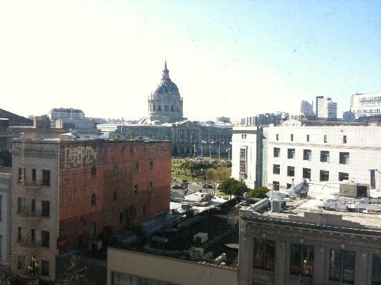 Hotel Whitcomb: View from our room