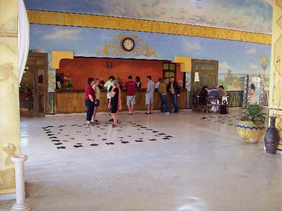 Lobby del Hotel Sol Cayo Largo