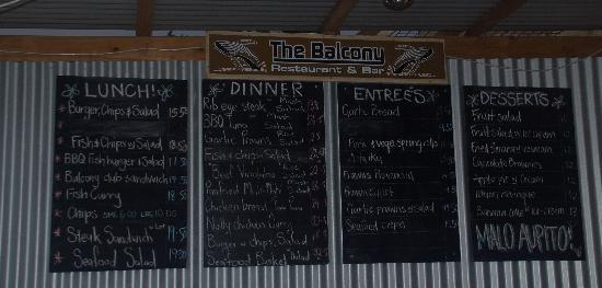Swallow 39 s cave picture of vava 39 u islands tonga for The balcony menu