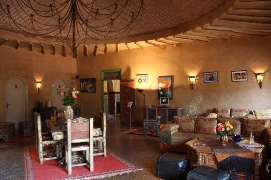 Hotel Dar Zitoune: Reception hall