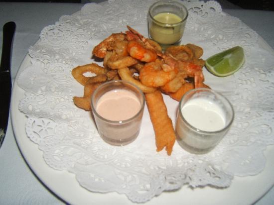 Grand Bahia Principe El Portillo: Seafood at the seafood restaurant