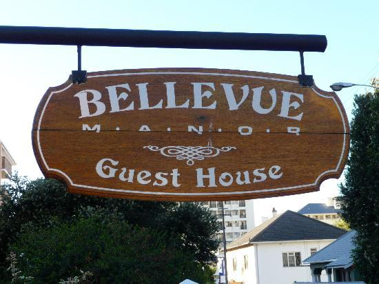 Bellevue Manor Guest House, Cottages, Self-Catering Suites & Apartments: C'est marqué dessus