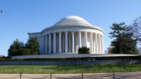 Bilde fra Jefferson Memorial
