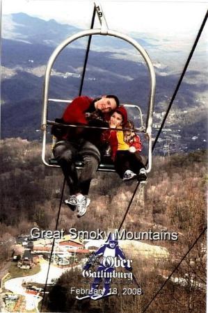 Ober Gatlinburg Amusement Park & Ski Area: Me and Conor