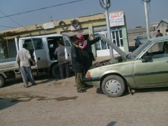 Ad-Diwaniyah, Irak: To close for comfort...