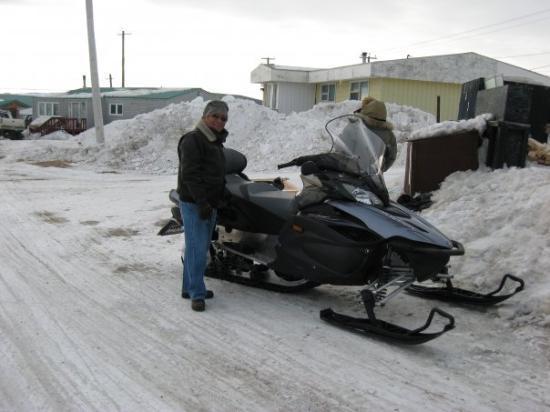 Iqaluit, Canada: Este es el mejor medio de transporte.