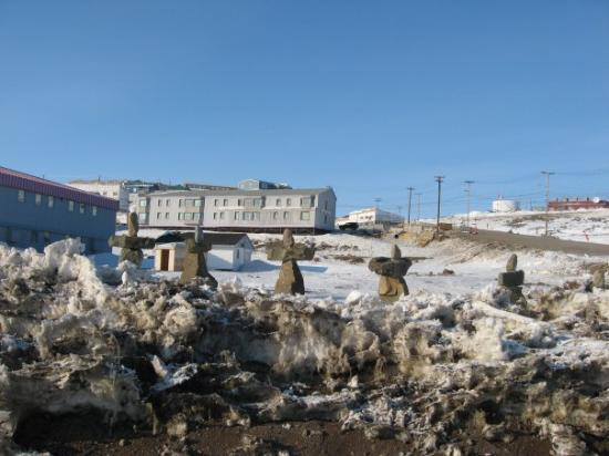 Iqaluit, Canadá: Monumentos muy particulares.