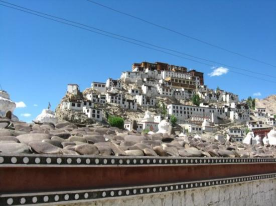 Leh, India: Thiksey Gompa (Monastery)