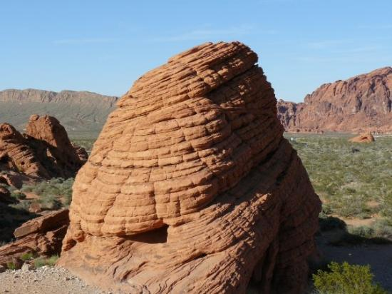 Valley of Fire State Park: Bee-Hive rock formations in Valley of Fire.