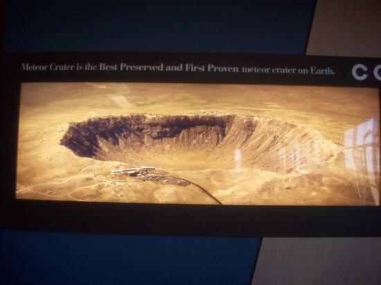 วินสโลว์, อาริโซน่า: Meteor Crater
