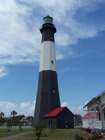 Tybee Island Lighthouse Museum: Tybee Lighthouse outside of Savannah, GA