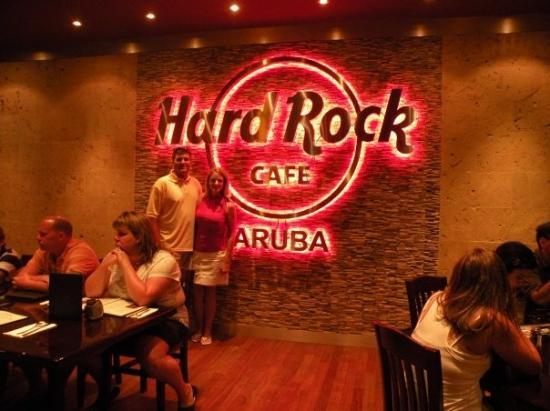 Oranjestad, Aruba : Hard Rock Cafe Aruba
