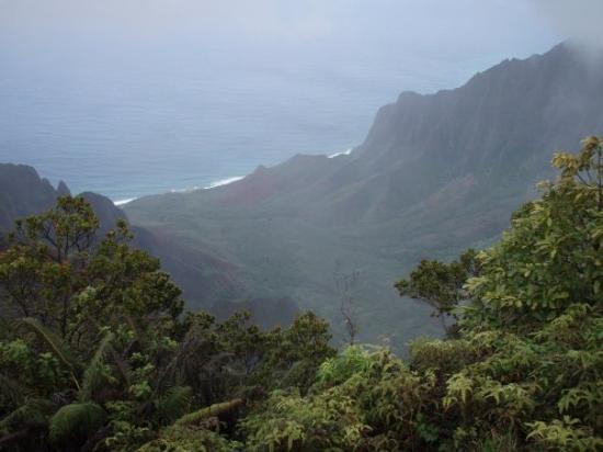 Koke'e State Park, Hawái: Na Pali coast