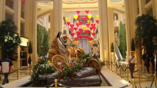 The Palazzo Resort Hotel Casino: The Tiger - Chinese New Year ( The Palazzo Resort )