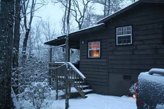 Cabins at Seven Foxes: The Fox Hole