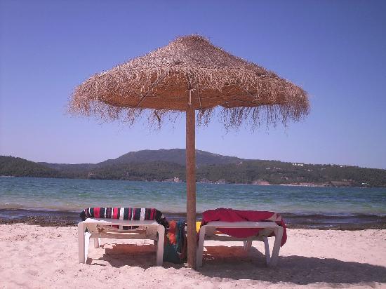 Aqualuz Suite Hotel Apartamentos : Beach facing Arrábida