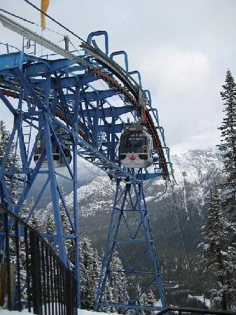 Banff Gondola - Going Down