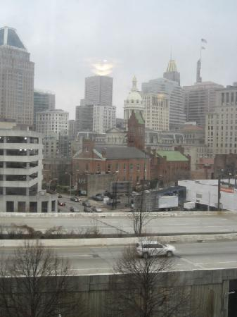 Holiday Inn Express Baltimore-Downtown: Daytime view from room 301