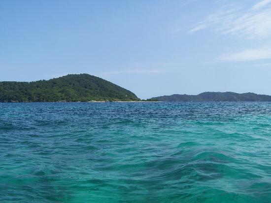 Palma Real Beach Resort & Villas: en allant vers Cayos Cochinos