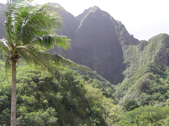Wailuku, ฮาวาย: Another View at Iao Needle Park