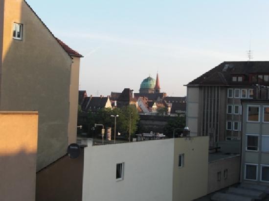 Hotel Fackelmann: Ausblick auf Nürnberg
