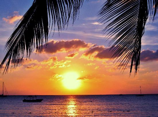 Sandals Negril Beach Resort & Spa: another picture-perfect sunset