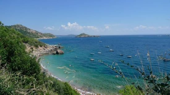 Monte Argentario, Italy: l'acqua dolce beach