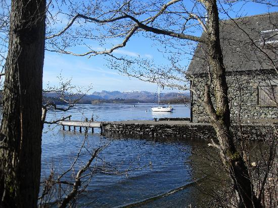 The Firgarth: On the bank of Lake Windermere.