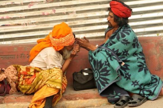 Rishikesh (Gange)  C'est louche ....