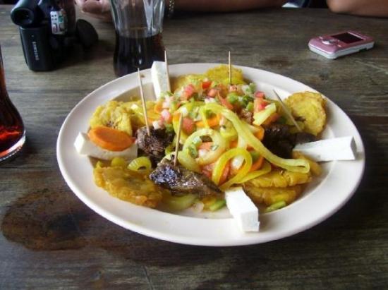 Siguatepeque, ฮอนดูรัส: Dinner