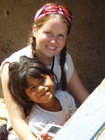 Ciudad Juarez, México: Sarahy and me