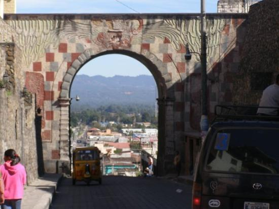 Chichicastenango, Guatemala: view from main part of Chichi