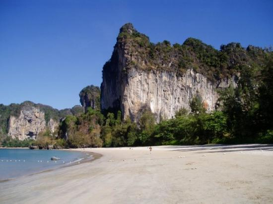 Ao Nang, Thailand: Railey Beach, Krabi