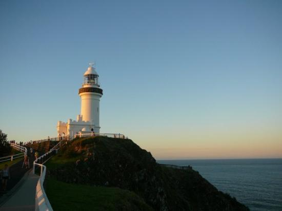 The Byron Bay lighthouse