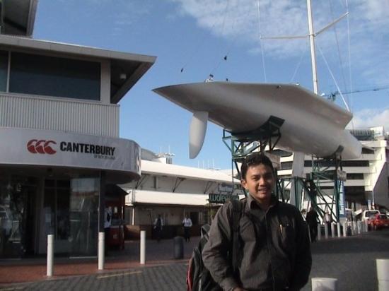 Sky Tower: Marine Harbour Auckland