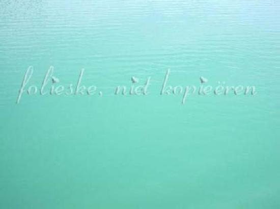 Forggensee: color of the water, is like that in reallity