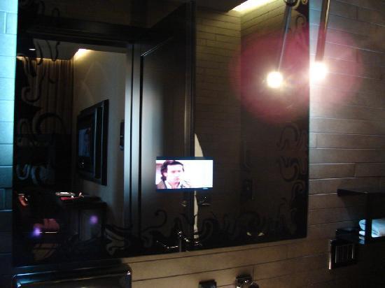 Si romantique photos de hotel palazzo barbarigo sul for Ecran salle de bain