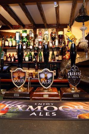 The Crown Hotel, Exford: Crown Hotel Bar