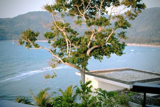 view to Kamala from main pool