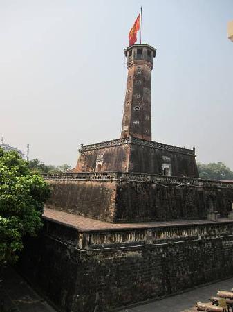 Hanoi Flag Tower at Military Museum