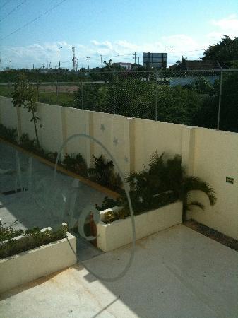 Hotel Magic Express : pool area